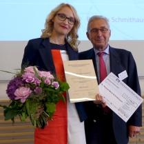 v.l.n.r. Dr. med. Ricarda Maria Schmithausen, Dr. Otto-Werner Marquardt