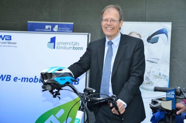 Prof. Wolfgang Holzgreve, MBA Ärztlicher Direktor und Vorstandsvorsitzender