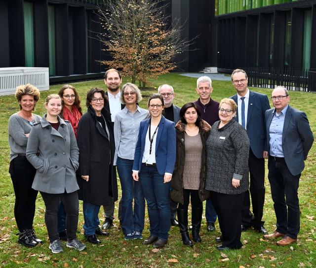 Gruppenfoto der Projektbeteiligten.